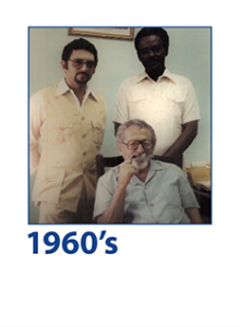 Anis G. Haggar and Taha Ali El-Bashir joined the family business. They established new cigarettes factory in Khartoum followed by plastics and Styrofoam production facilities.